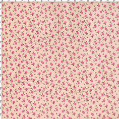 Tecido Estampado para Patchwork - Florzinha Rosê 100% Algodão - 50cm de comprimento - 1,40m de largura Cada unidade refere-se a um pedaço de 50cm de comprimento por 1,40m de largura. Para adquirir 1 metro, selecione 2 unidades. Fabricante: Corrente