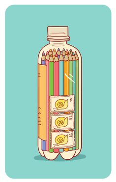 """Supplies in a Bottle 