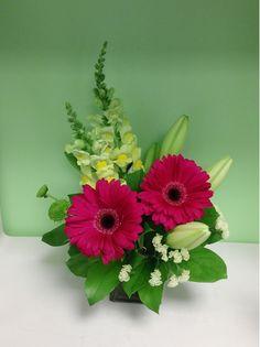 A flower arrangement called Agreement