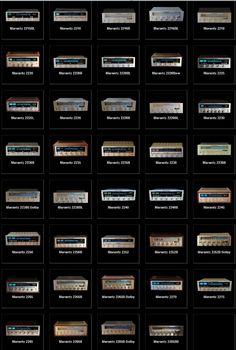 Vintage Marantz Just a few of them.