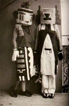 Kachinas! Hopi designs drew the attention of Zurich Dada artist Sophie Taueber-Arp (1889-1943).