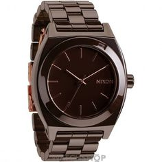 Mens Nixon The Ceramic Time Teller Ceramic Watch A250-2192