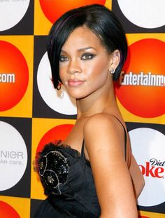 29 of the Best Bob Haircuts in History - The Cut,The Umbrella-ella-ella-eh Bob: Rihanna, 2007