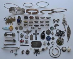 Metal Detecting Finds sent in by Robert T from the Western Cape. Incredible collection from Metal Detecting rocks! Metal Detecting Finds, Metal Detector, Cape Town, Jewelery, Costume, Gold, Crafts, Jewlery, Jewels