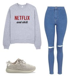 """"""""""" by babiigirljessie on Polyvore featuring Topshop and adidas Originals"""
