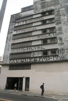 Pixacao Sao Paulo, Brazil