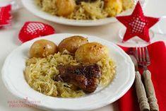 ...konyhán innen - kerten túl...: Savanyú káposztával sült oldalas Meat, Chicken, Food, Essen, Meals, Yemek, Eten, Cubs