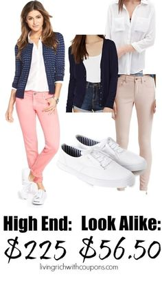 High Fashion Look for Less {save over $168}
