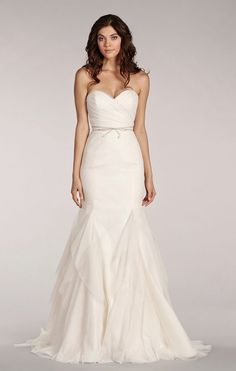 @2lifeWeddings BLUSH BY HAYLEY PAIGE  Style 1402 $$   http://www.jlmcouture.com/Blush-Hayley-Paige/Bridal