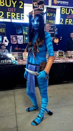All of the Best Cosplayers from Melbourne Supanova 2016: A Skilled Na'vi Avatar Cosplayer