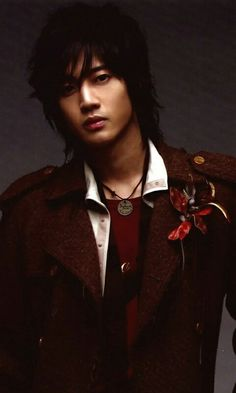 Kim Hyun Joong 김현중 ♡ long hair ♡ SS501 ♡ Kpop ♡ Kdrama