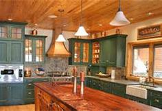 1000 images about log cabin interiors on pinterest log. Black Bedroom Furniture Sets. Home Design Ideas