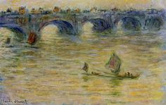 Клод Моне - Waterloo Bridge 3, 1899-01. Клод Оскар Моне