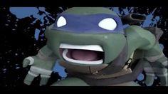 Leonardo's Last Stand (TMNT SEASON 2) he went down fighting