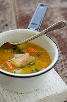 Dominican Republic Sopa De Pescado (Fish Soup)