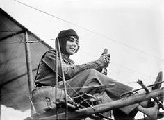 Hélène Dutrieu (10 July 1877 – 26 June 1961), was a cycling world champion, stunt cyclist, stunt motorcyclist, automobile racer, stunt driver, pioneer aviator, wartime ambulance driver, and director of a military hospital.