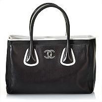 Chanel Handbag- I love the white accent!