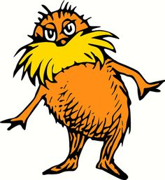 Dr Seuss The Lorax vinyl wall decal 2 foot by RogueDecalsandSigns, $30.00