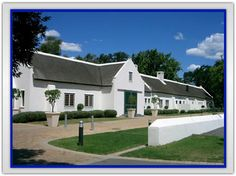 Allee Bleue New Africa, South Africa, Dutch Colonial, Wine Country, Dream Homes, Buildings, Old Things, Lunch, Adventure