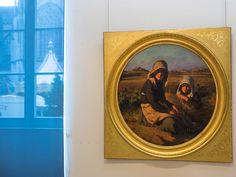 moissonneuses - île de Bréhat par Pierre Dupuis  - au musée des Beaux-Arts de Quimper © Paul Kerrien Http://toilapol.net Finistère Bretagne
