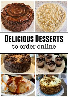 "you ""add on"" a dessert to your order, the price drops to an amazing deal. Every dessert I have ordered from Omaha Steaks has been so delicious and has exceeded my expectations! It makes a great gift to send too! Homemade Desserts, Best Dessert Recipes, Fun Desserts, Sweet Recipes, Delicious Desserts, Yummy Food, Brownie Recipes, Cookie Recipes, Omaha Steaks"
