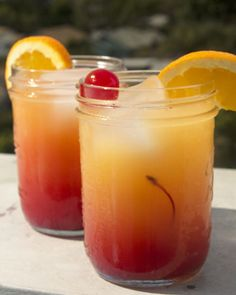 Utilize That Extra Vodka You Have And Make This Berry Vodka Sunrise Drink