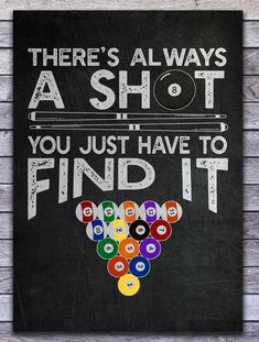 You love to play billiards with your friends and want to set up your billiard room? You are looking for decoration for your snooker room? Then get this metal poster with a funny design for all pool players who love their cue. Pool Quotes, Game Quotes, Funny Quotes, Qoutes, Snooker Quotes, Snooker Games, Billards Room, Pool Sticks, Pool Table Room