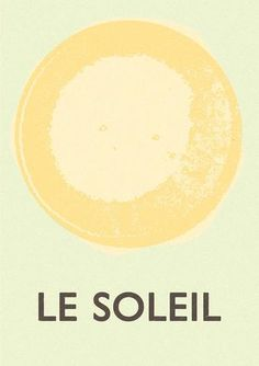 La Soleil (Noon Day Sun) print