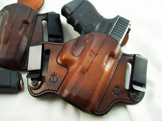 hopp custom leather holster