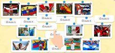 Países y nacionalidades en español | ProfeDeELE.es Spanish Classroom, Classroom Ideas, Hispanic Heritage Month, Spanish Language, Lesson Plans, Photo Wall, Technology, How To Plan, Frame