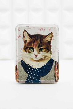 Shop Cat Tin at Urban Outfitters today. We carry all the latest styles, colours and brands for you to choose from right here. Decorative Accessories, Home Accessories, Vintage Stil, Dose, Decorative Cushions, Mixed Metals, Decoration, Urban Outfitters, Vintage Fashion