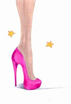 Learn how to draw high heel shoes in few easy to follow steps and make you fashion sketches and illustrations even more gorgeous! Drawing shoes has never been easier...