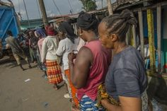 WFP has received more than US$ 30 million from the government of Germany to support  food assistance to more than one million people affected by the Ebola crisis in West Africa. (10 November 2014, Photo: WFP/Rein Skullerud)