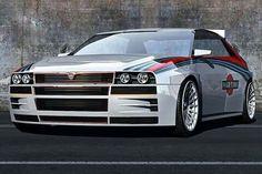 Lancia Delta HF integrale concept