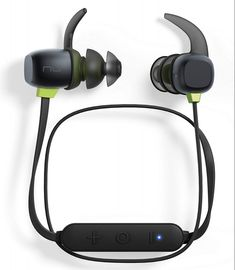 Optoma NuForce BE Premium Wireless Sport Earphones with Battery, Sweat Proof, AAC + aptX, Quick Charge, Graphene Drivers (Black) Cheap Wireless Headphones, Best In Ear Headphones, Sports Headphones, Stereo Headphones, Bluetooth Gadgets, Smartphone, Headset, Sweat Proof, Android