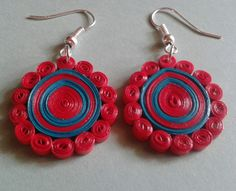 Paper quilled earrings....!!!