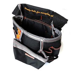 8 Pockets Oxford Tool Pouch Electrician Tools Bag Electricista Tool Belt Waist Pocket Tool Belt Pouch Bagbolsa Herramienta HW243 *** Find out more about the great product at the image link.