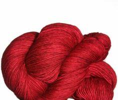 Madelinetosh Tosh Merino Light Yarn - Scarlet