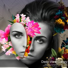 Flower Power By Erik Brede Chromogenic (C-Type) Print (Kodak Endura Pro Metallic -Glossy, cm white border ) Size / Limited Edition of 25 + (Artist Proof) Signed,Numbered and Unframed Remarks Each print comes with Certificate of Authenticity (COA) Expressionist Portraits, Abstract Portrait, Pigment Ink, Community Art, Photo Manipulation, Contemporary Artists, Fine Art Photography, Online Art, Flower Power