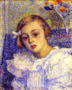 théo van rysselberghe Belgian neo-impressionist painter