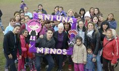 """Malvinas Argentinas volvió a decir """"Ni una menos"""""""