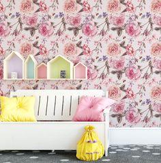 Cottage Garden Wallpaper