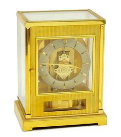 A Le Coultre Brass Atmos Mantle Clock. Lot 153-2161