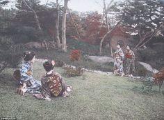 【画像】 100年前の日本の写真が発見される  すげええええええええ