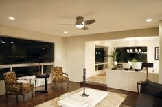 Modern living room, perfect for entertaining guests.