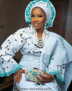 #asoebi #asoebispecial #speciallovers #wedding #makeover #dope #headgear #bead #capturedby @dikophotography
