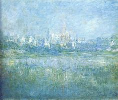 It's About Culture | claudemonet-art:   Vetheuil in the Fog, 1879 ...