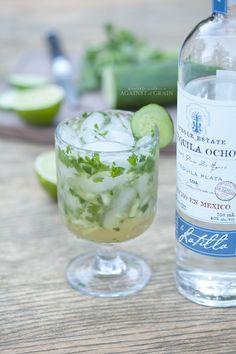 Paleo Cucumber Cilantro Margarita from Danielle Walker's Against all Grain
