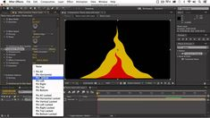 Animated Cartoon Fire Tutorial After Effects