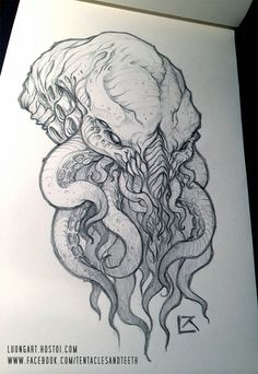 Cthulhu Comission 3 by TentaclesandTeeth.deviantart.com on @deviantART